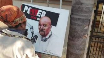 Rasta's Painting of Bob Mabena Leaves twitter Confused