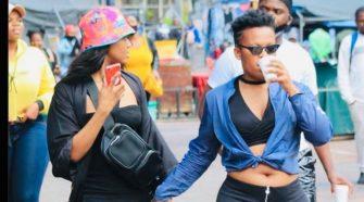 Babes Wodumo and Zodwa Wabantu serve friendship goals
